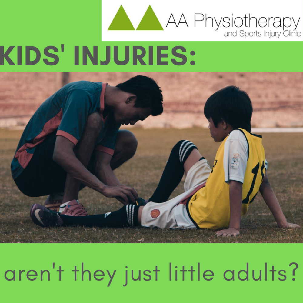 KIDS' INJURIES: aren't they just little adults?